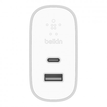Belkin BOOST↑CHARGE™ 27W USB-C™ + 12W USB-A Home Charger