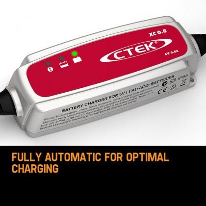 CTEK XS0.8 UK 6V Smart Battery Charger