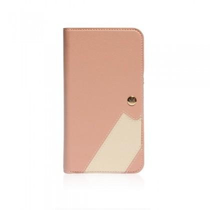 iPhone 11 (6.1) Monocozzi Lucid Folio Wallet w/ Detachable Back Case Coral