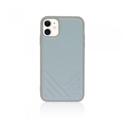 iPhone 11 (6.1) Monocozzi Lucid Folio Wallet w/ Detachable Back Case Blue