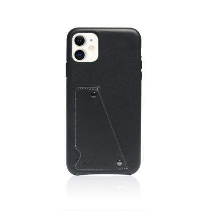 iPhone 11 (6.1) Monocozzi Exquisite Genuine Leather Charcoal