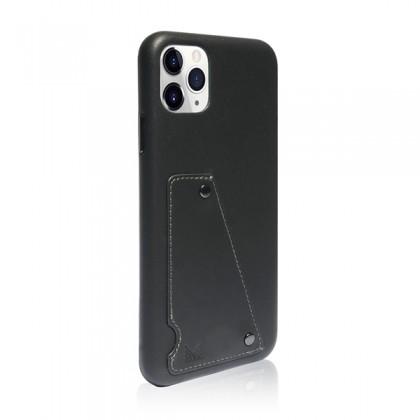 iPhone 11 Pro Max (6.5) Monocozzi Exquisite Genuine Leather Charcoal