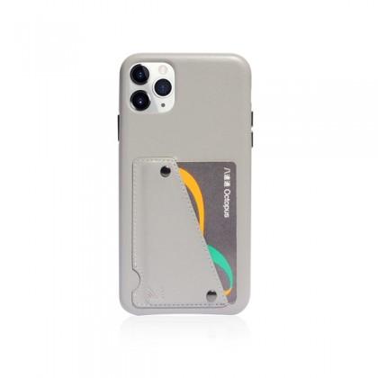 iPhone 11 Pro (5.8) Monocozzi Exquisite Genuine Leather Grey