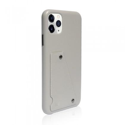 iPhone 11 Pro Max (6.5) Monocozzi Exquisite Genuine Leather Grey
