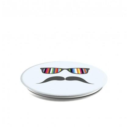 PopSockets - Mustache Rainbow