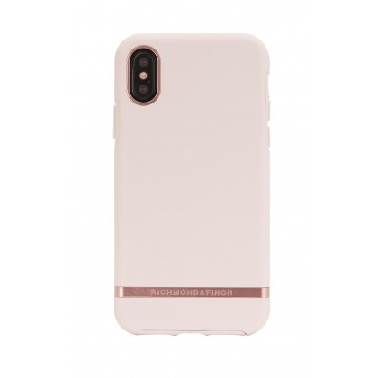 iPhone XS Max Richmond & Finch Fashion Protective Case (Matte Pink Rose)