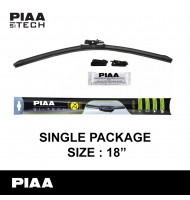 "PIAA - Si-Tech Silicone Flat Wiper Blade (Single : 18"")"