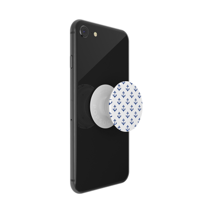 PopSockets Popgrip - Anchors Away White - Phone Grip