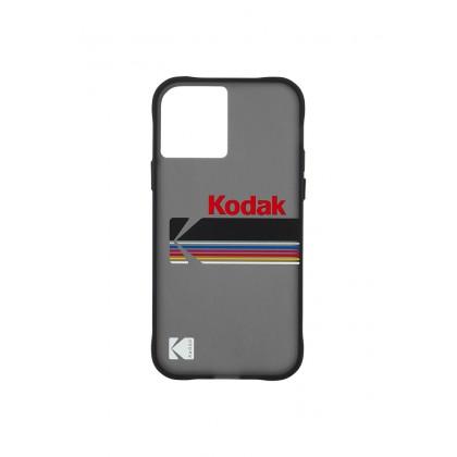 Case Mate KODAK For iPhone 12 Series (Matte Black + Shiny Black Logo)