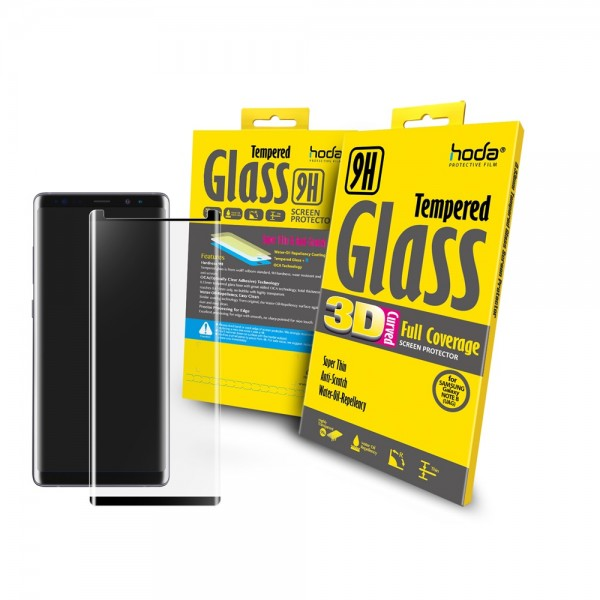 [Galaxy Note 8] Hoda 3D Full Glue Coverage Tempered Glass (UAG Match)
